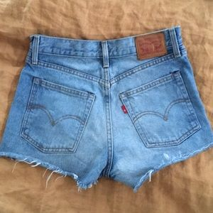Levi's Red Tab denim shorts